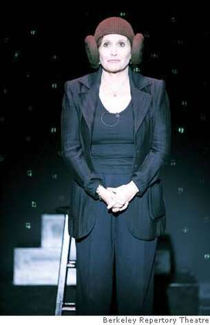 Carrie Fisher will present a solo show in 2008 at Berkeley Rep Photo: Berkeley Rep