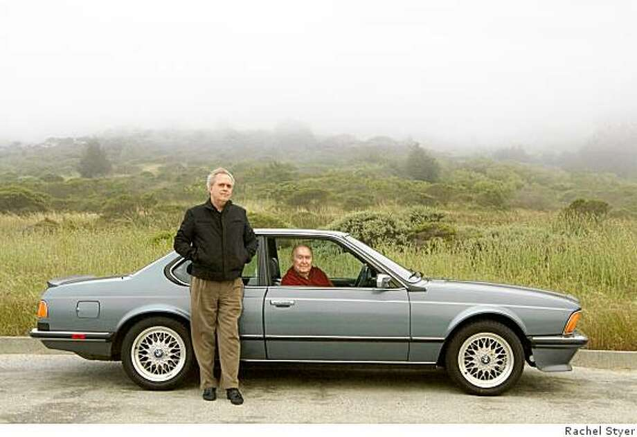 """George Eddy and his son's shared love of foreign cars led to the purchase of this BMW 635 CSi in 1987. """"This is a beautiful car, especially in the European edition,"""" Eddy says. """"The bumpers remained thin and narrow keeping a much better view in profile than the car officially designed for the U.S. market."""" Photo: Rachel Styer"""