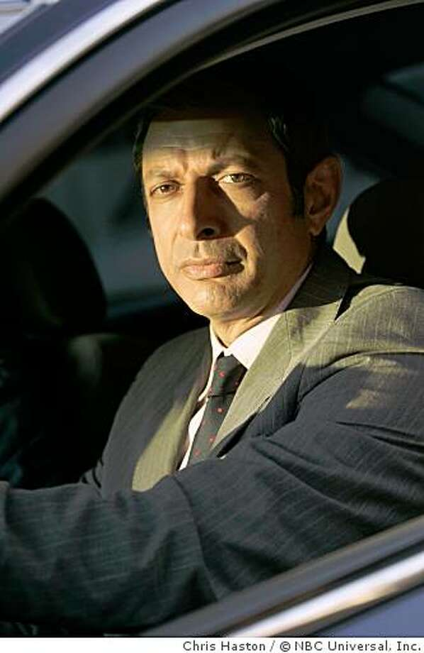 Jeff Goldblum as Detective Michael Raines -- NBC Photo: Chris Haston Photo: Chris Haston, © NBC Universal, Inc.