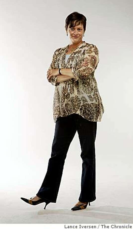 Interior designer Georgina Rice.  Wednesday June 2, 2009 Photo: Lance Iversen, The Chronicle