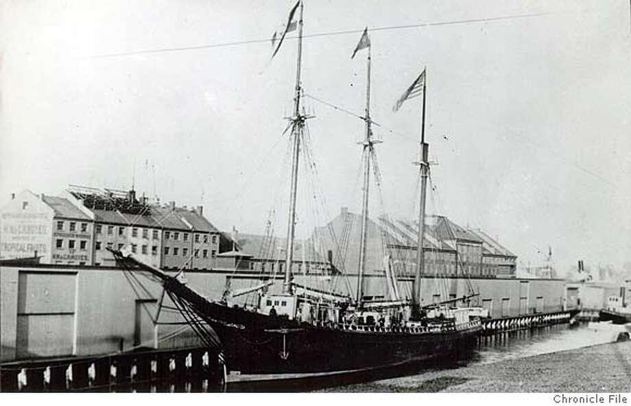 "The Jesse H. Freemam, one of United Fruit Company's first ""banana boats."" Photo: United Fruit Company"