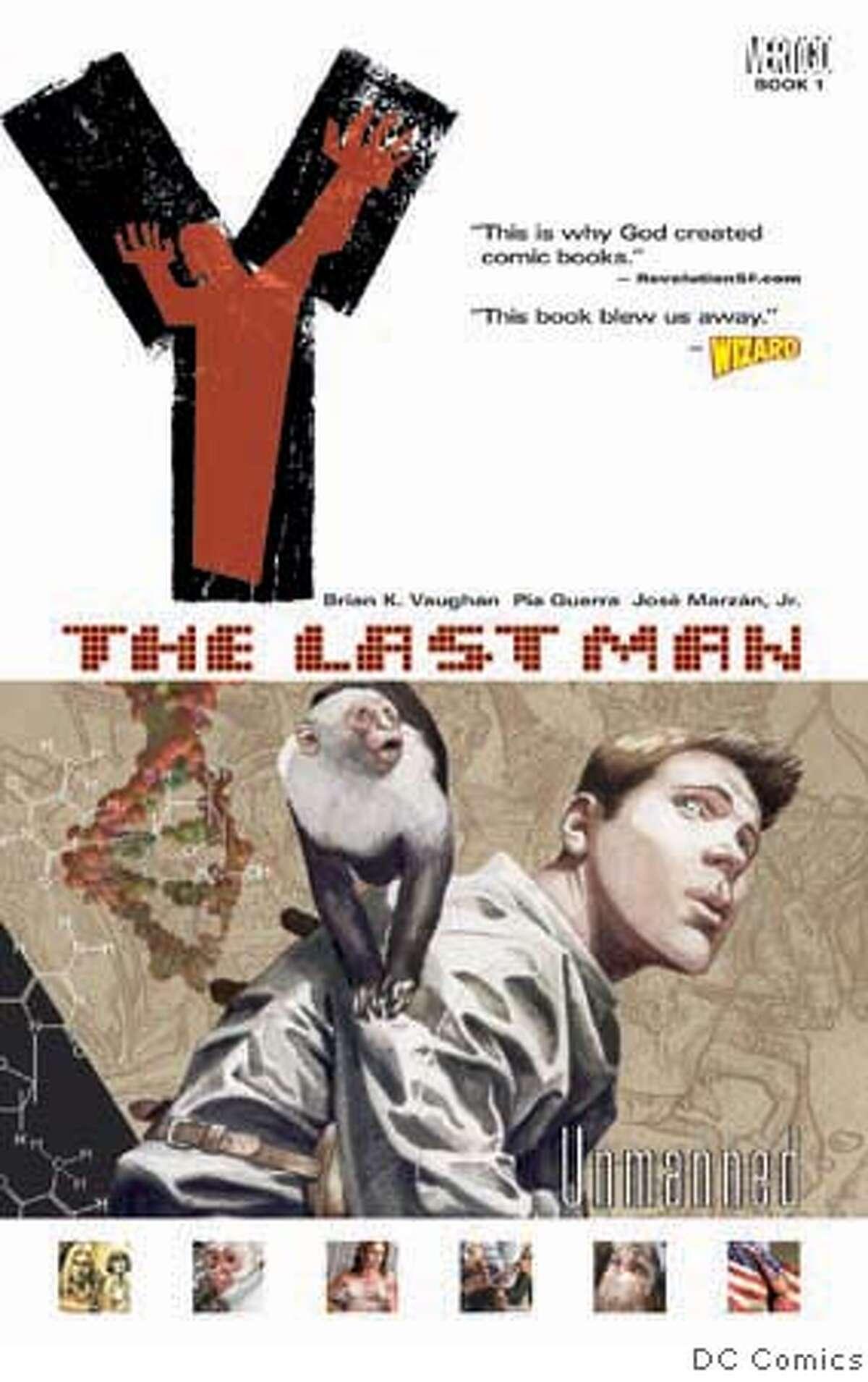 """The Last Man - Unmanned"" by Vertigo Comics Credit: DC Comics"