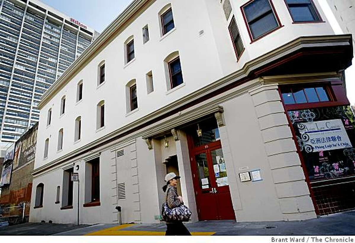 The building at 53 Columbus Avenue will be next to a City College campus extension and in the shadow of a Hilton hotel. Residents at 53 Columbus Avenue near San Francisco's Chinatown are celebrating their new homes after the SF Community Land Trust helped with renovations.