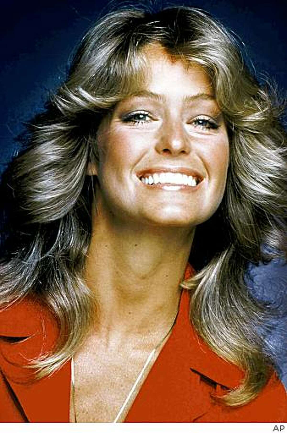 FILE - In this 1977 file photo originally released by ABC, Farrah Fawcett-Majors, from the series