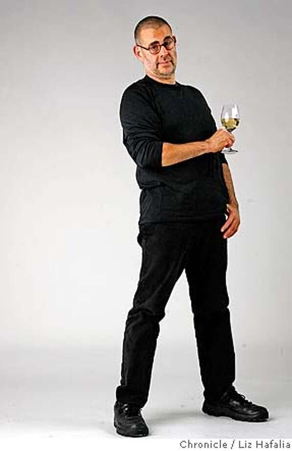 Mark Ellenbogen, wine director at Slanted Door restaurant. �2007, San Francisco Chronicle/ Liz Hafalia  MANDATORY CREDIT FOR PHOTOG AND SAN FRANCISCO CHRONICLE. NO SALES- MAGS OUT. Photo: Liz Hafalia