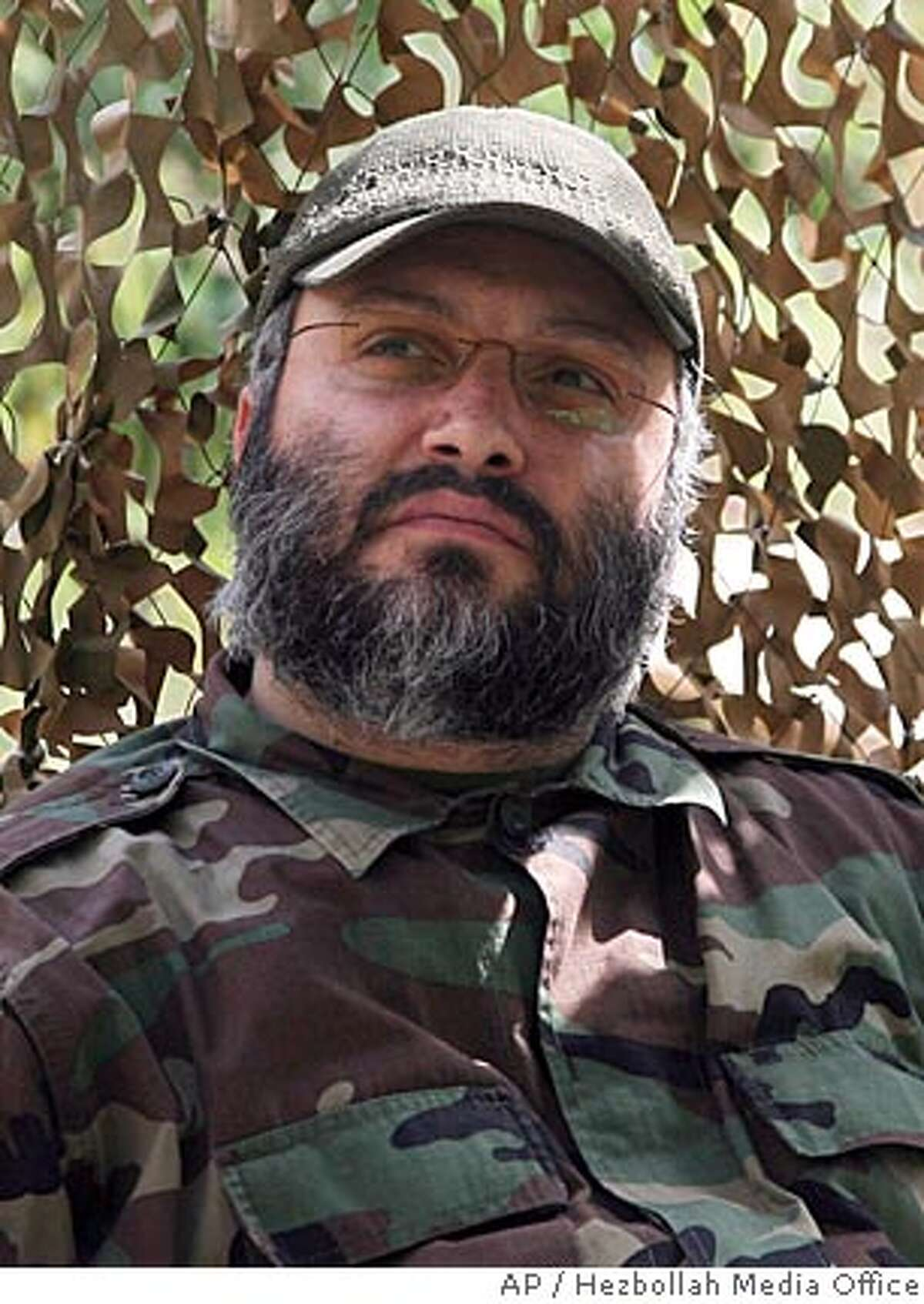 ** RETRANSMISSION FOR ALTERNATE CROP ** This picture released by Hezbollah media office, shows Imad Mughniyeh, the elusive senior Hezbollah commander who the group said Wednesday Feb. 13, 2008 been killed. Fugitive militant Imad Mughniyeh, a top U.S. target suspected in the killings of hundreds of Americans as well as a series of infamous strikes against U.S., Israeli and Jewish targets, was killed in a car bomb blast in the Syrian capital Damascus, Iranian television and a Syrian human rights group said Wednesday. Hezbollah accused Israel for the assassination. (AP Photo/Hezbollah Media Office,ho) ** NO SALES **