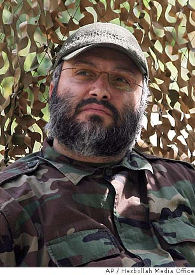** RETRANSMISSION FOR ALTERNATE CROP ** This picture released by Hezbollah media office, shows Imad Mughniyeh, the elusive senior Hezbollah commander who the group said Wednesday Feb. 13, 2008 been killed. Fugitive militant Imad Mughniyeh, a top U.S. target suspected in the killings of hundreds of Americans as well as a series of infamous strikes against U.S., Israeli and Jewish targets, was killed in a car bomb blast in the Syrian capital Damascus, Iranian television and a Syrian human rights group said Wednesday. Hezbollah accused Israel for the assassination. (AP Photo/Hezbollah Media Office,ho) ** NO SALES ** Photo: HO