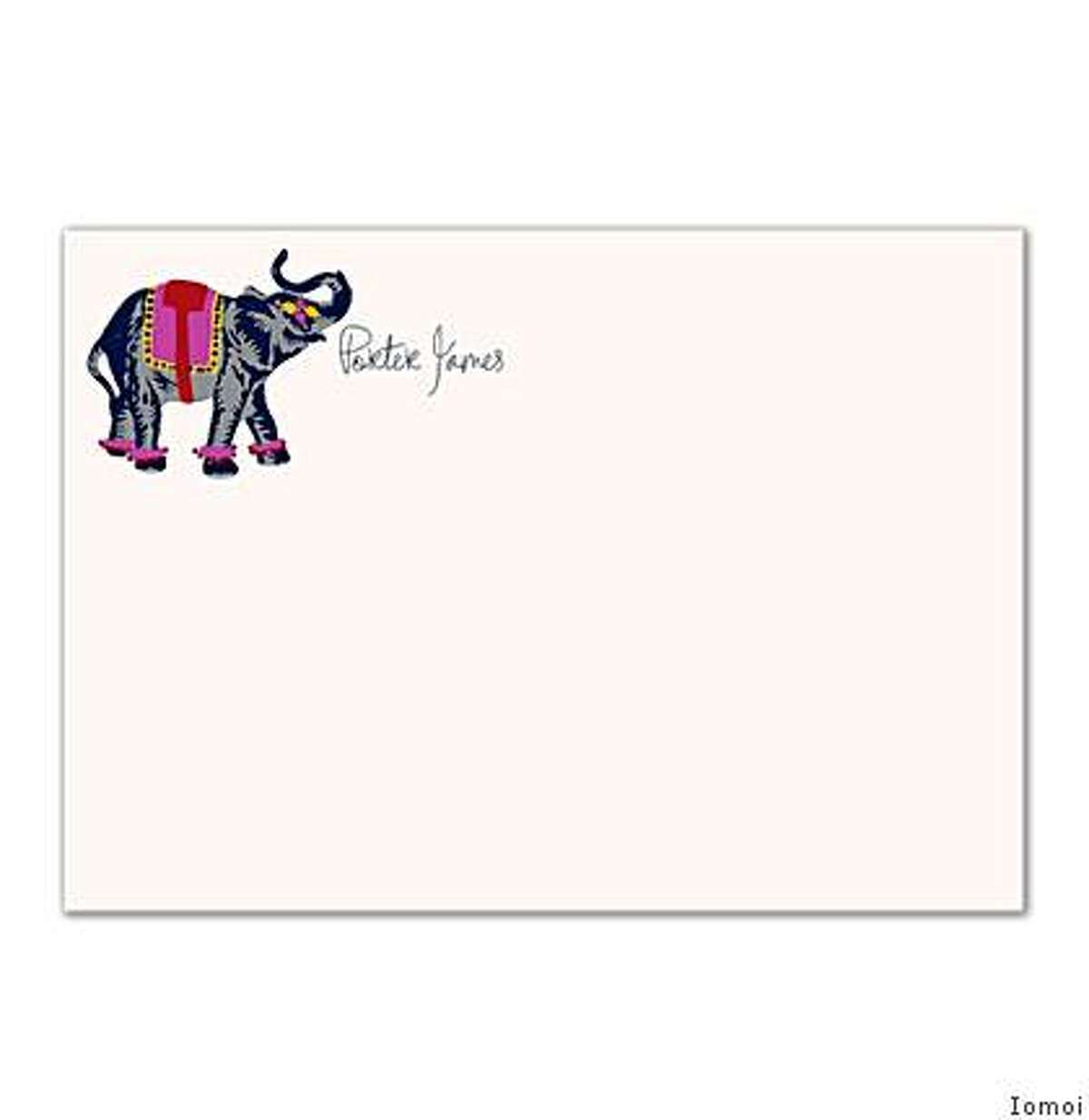 Lafayette company Iomoi offers personalized stationery and e-stationery.