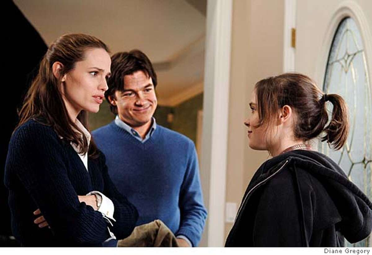 From left: Jennifer Garner, Jason Bateman and Ellen Page in JUNO. Photo Credit: Diane Gregory Ran on: 02-13-2008 Lo Mei Seh laughs as one of her two adopted Chinese girls helps her pose, but shes not smiling about a remark in Juno. Ran on: 02-13-2008 Lo Mei Seh laughs as one of her two adopted Chinese girls helps her pose, but shes not smiling about a remark in Juno.