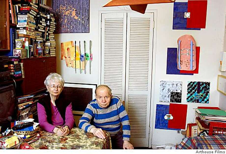 Herbert Vogel and Dorothy Vogel in HERB & DOROTHY. Photo: Arthouse Films