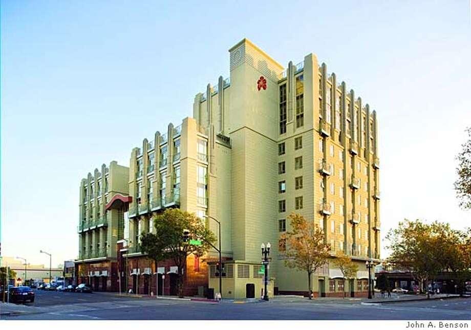 Exterior of 8 Orchids. New condo complex in Oakland's Chinatown Photo: John Benson John A. Benson