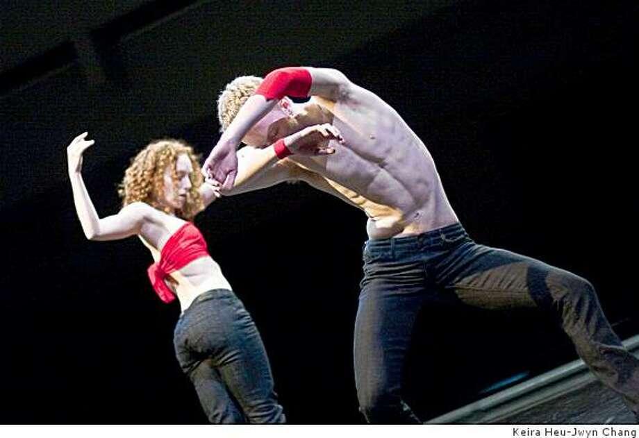Dancers: Suzanne Lappas and Spencer DickhausPhoto by Keira Heu-Jwyn Chang Photo: Keira Heu-Jwyn Chang