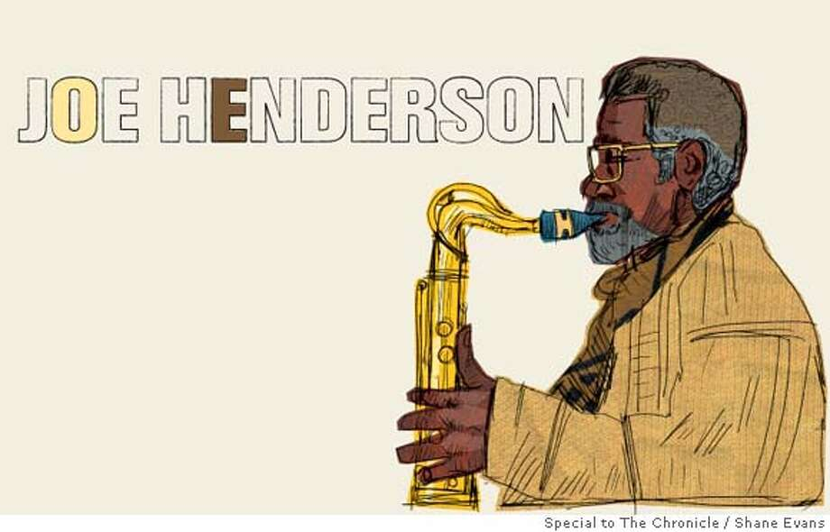 Joe Henderson. (Shane Evans / Special to The Chronicle )
