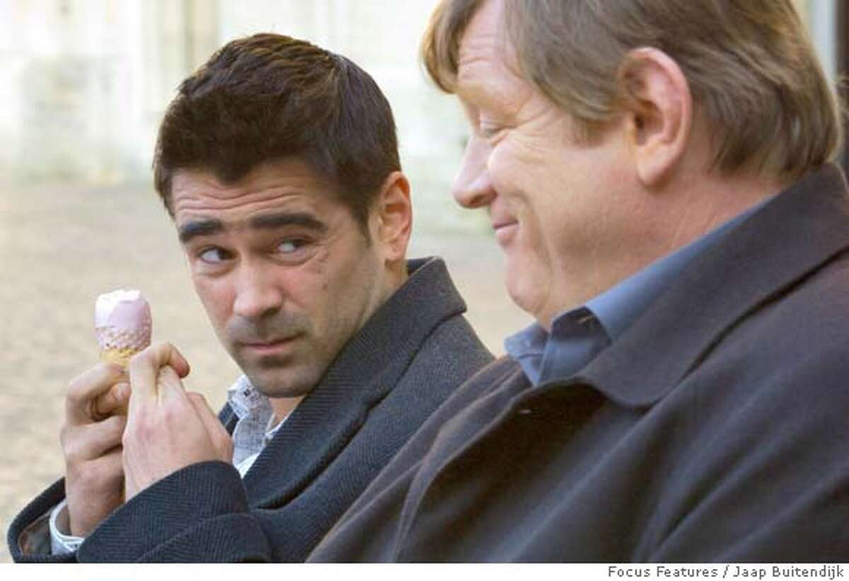 """Colin Farrell and Brendan Gleeson in """"In Bruges"""" Focus Features 2008 Ran on: 02-10-2008 Martin McDonagh was a major playwright in London before directing the film In Bruges."""