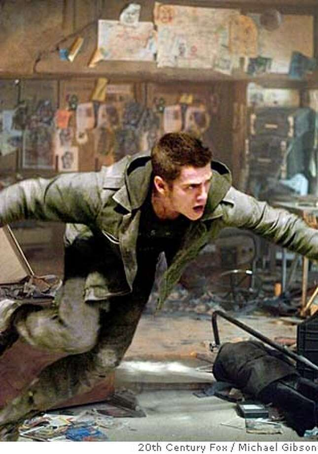 "Hayden Christensen is a Jumper, a person with the ability to teleport himself anywhere, but there are people who want to kill him and his kind in Doug Liman's sci-fi thriller, ""Jumper,"" opening Thursday. Hayden Christensen finds himself in a war that has been raging for thousands of years between ""Jumpers"" and those who have sworn to kill them.  Hayden Christensen finds himself in a war that has been raging for thousands of years between ""Jumpers"" and those who have sworn to kill them. Photo: Michael Gibson Michael Gibson"