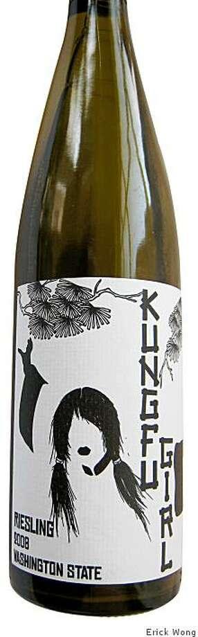 2008 Charles Smith Wines Kung Fu Girl Evergreen Vineyard Riesling ($12) Photo: Erick Wong