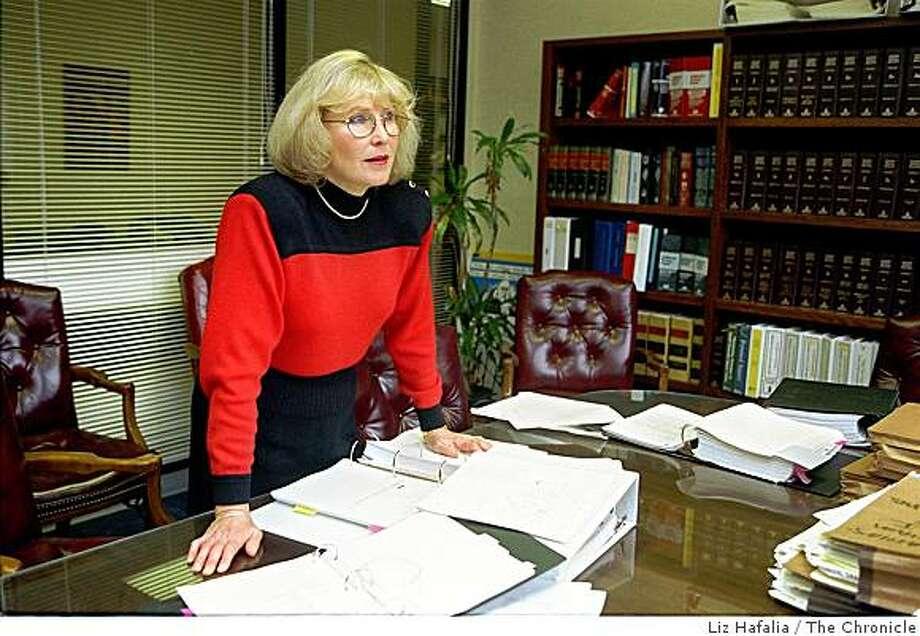 Attorney Tiffany Rystrom Photo: Liz Hafalia, The Chronicle