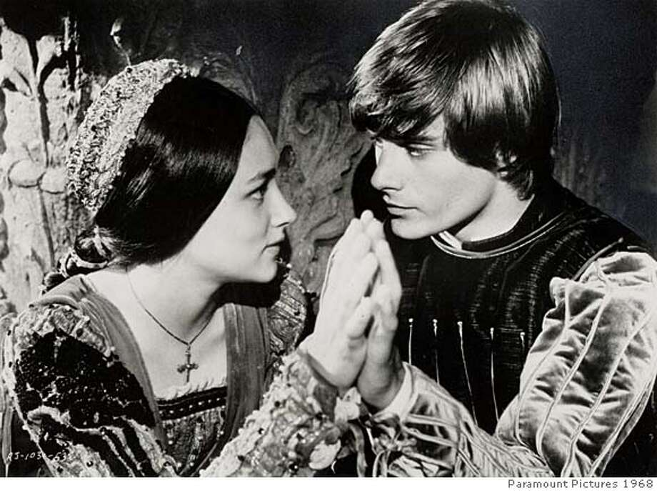 THIS IS A HANDOUT IMAGE. PLEASE VERIFY RIGHTS. ROMANTIC13B-C-11FEB02-DD-HO Olivia Hussey and Leonard Whiting in ROMEO AND JULIET Ran on: 09-11-2005  Joseph Kennedy: the man behind RKO Studios.  ALSO Ran on: 07-08-2007 CAT Photo: HANDOUT