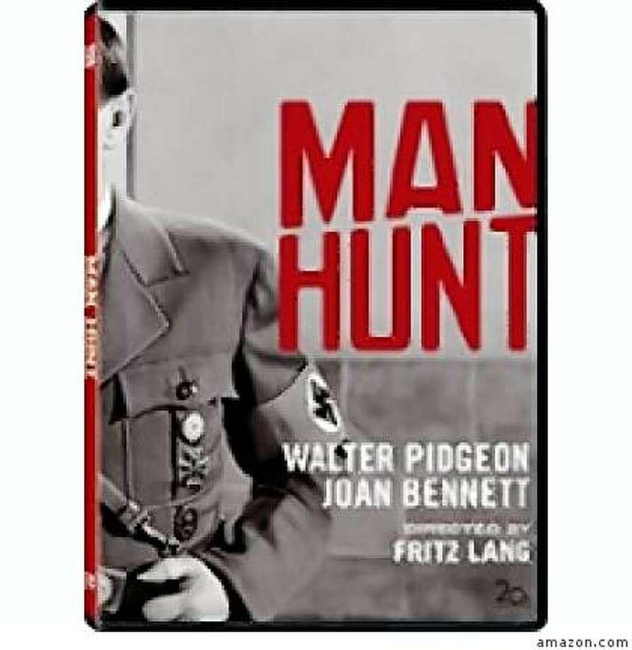 dvd cover MAN HUNT Photo: Amazon.com