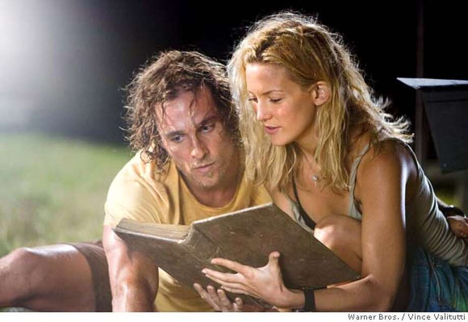 "In this image released by Warner Bros., Matthew McConaughey portrays Ben ""Finn"" Finnegan, and Kate Hudson portrays Tess Finnegan in a scene from ""Fool's Gold. (AP Photo/Warner Bros., Vince Valitutti) ** NO SALES ** Photo: Vince Valitutti"