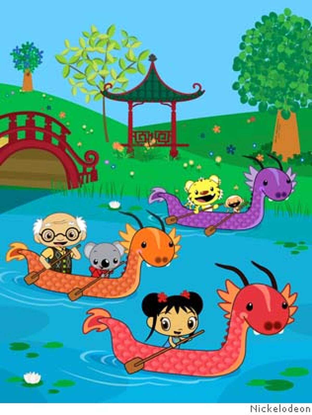Nick Jr. Celebrates the Chinese New Year and Introduces Preschoolers to Chinese Language and Culture on Ni Hao, Kai-lan, a Groundbreaking New Animated Series Premiering Thursday, Feb. 7, at 11:00 a.m. (ET/PT). (PRNewsFoto/NICKELODEON)
