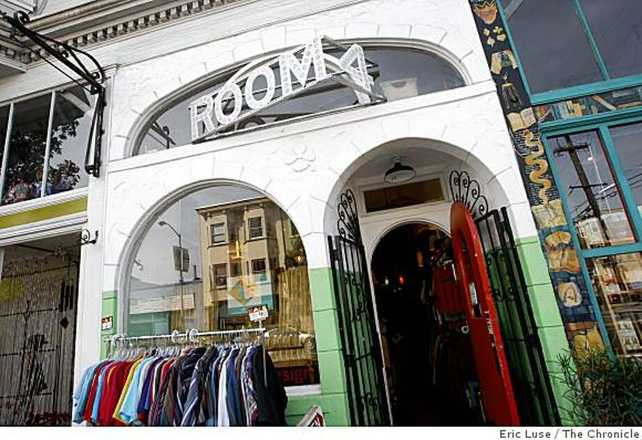 Room 4   store in the Mission District of  San Francisco photographed on Wednesday, March 25, 2009. Photo: Eric Luse, The Chronicle