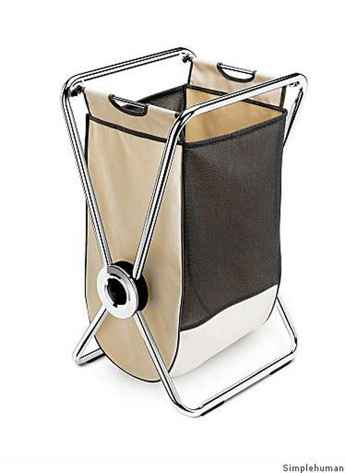 The X-frame Laundry Hamper by Simplehuman Photo: Simplehuman