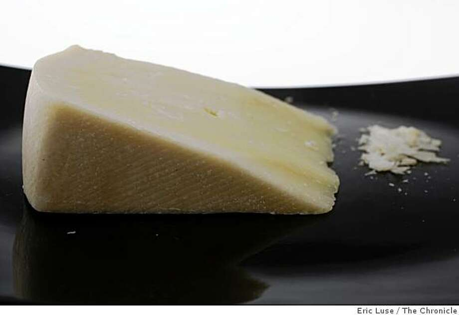 Kefalotyri cheese photographed  in San Francisco on Thursday, May 21, 2009. Styling by Shannon Shafer Photo: Eric Luse, The Chronicle