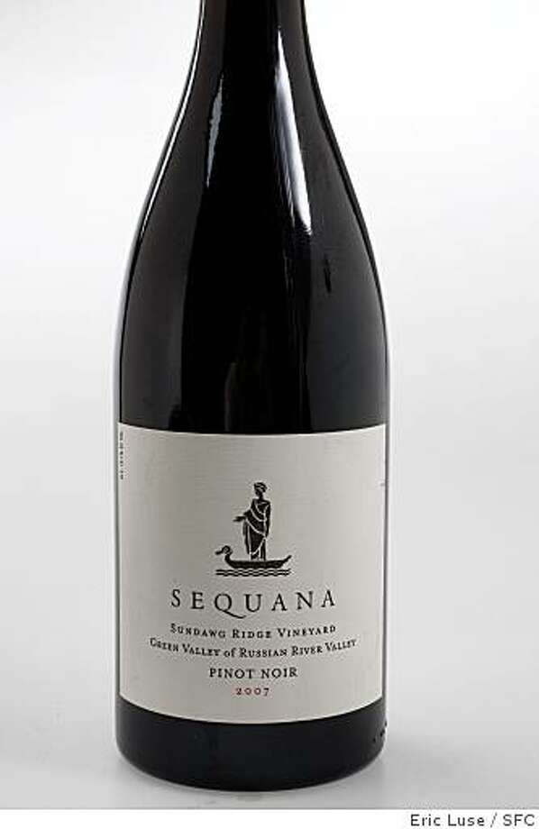 2007 Sequana Pinot Noir photographed in San Francisco  on Thursday, June 4, 2009. Photo: Eric Luse, SFC