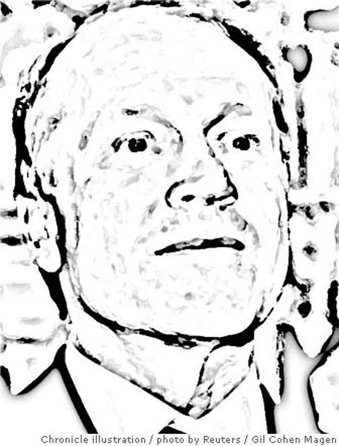 John Chambers. Chronicle photo illustration