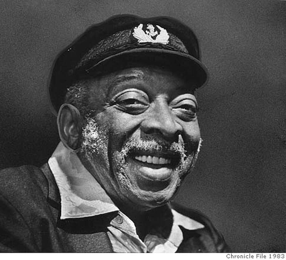 Count Basie in 1983. Photo: Chronicle File Photo 1983