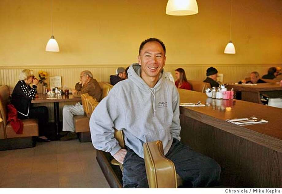 Bridges Executive Chef, Kevin GIn is a big fan of Squirrles Coffee Shop in Lafayette, Calif. Mike Kepka/The Chronicle MANDATORY CREDIT FOR PHOTOG AND SAN FRANCISCO CHRONICLE/NO SALES-MAGS OUT Photo: Mike Kepka