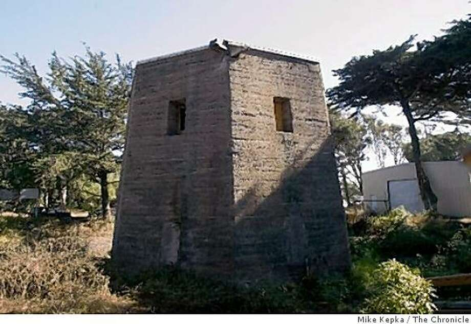 unrepaired windmill at the sound end of gg park Photo: Mike Kepka, The Chronicle