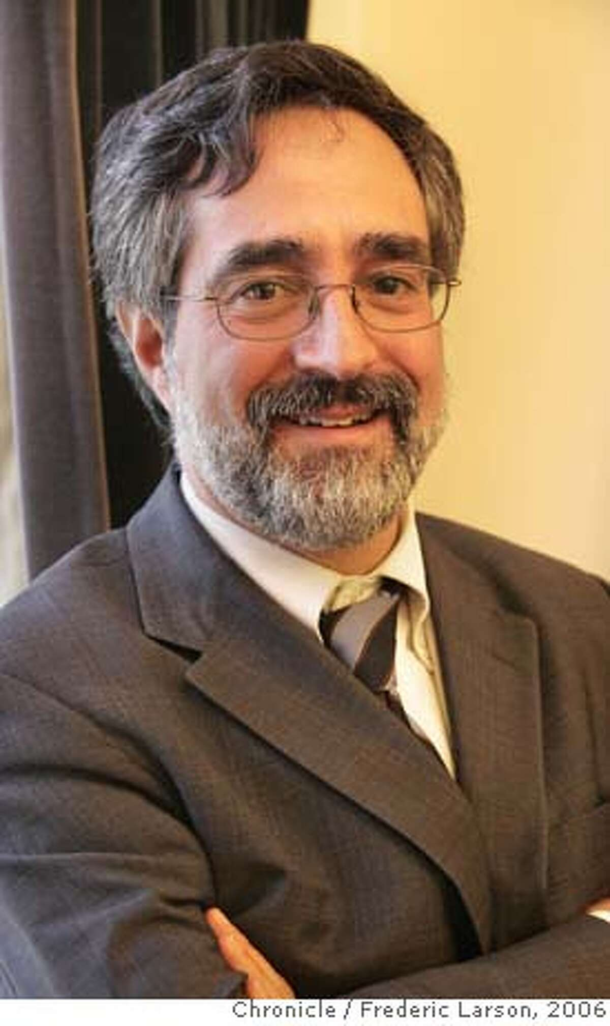 Aaron Peskin, President of the Board of Supervivors who frequents the Cafe Trieste Cafe in Northbeach where he met Roy Mottini. 11/30/06 {Photographed by Frederic Larson} 1/24/07 {Photographed by Frederic Larson} Ran on: 05-22-2007 Aaron Peskin, president of the Board of Supervisors, will present a plan to the full board today to overhaul the Muni system. Ran on: 05-26-2007 Roy Mottini has returned to Caffe Trieste after a tough year that saw him evicted and hospitalized. Ran on: 07-06-2007 Aaron Peskin now pushing a compromise with union officials. ALSO Ran on: 07-26-2007 Ran on: 08-01-2007 Supervisor Aaron Peskin says his plan wont fix all of Munis many troubles, but it will help. ALSO Ran on: 10-06-2007 Attorney Steven Gruel Ran on: 10-06-2007 Attorney Steven Gruel Ran on: 10-25-2007 Jared Blumenfeld Ran on: 10-31-2007 Aaron Peskin, president of the Board of Supervisors, controls the committee that received the donation. Ran on: 10-31-2007 Aaron Peskin, president of the Board of Supervisors, controls the committee that received the donation. Ran on: 12-24-2007 Jake McGoldrick District One MANDATORY CREDIT FOR PHOTOGRAPHER AND SAN FRANCISCO CHRONICLE/NO SALES-MAGS OUT