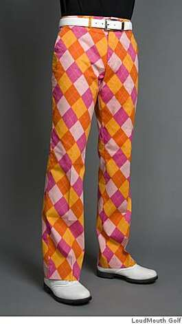 Golf pants from LoudMouth Golf in Sonoma. Photo: LoudMouth Golf