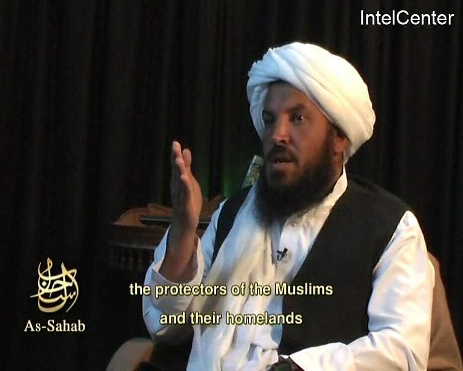 Abu Laith al-Libi, an al Qaeda commander in Afghanistan, is seen in this video footage captured from his April 27, 2007 as-Sahab interview. Libi, described by Western intelligence officials as one of Osama bin Laden's top six lieutenants, has been killed, U.S. officials and a mouthpiece for the organisation said on January 31, 2008.      MANDATORY CREDIT  REUTERS/IntelCenter/Handout (UNITED STATES)  EDITORIAL USE ONLY. NOT FOR SALE FOR MARKETING OR ADVERTISING CAMPAIGNS. NO ARCHIVES. NO SALES.   (Permission is granted to use in print, broadcast and Internet media as long as the IntelCenter bug is not cropped or obstructed and they carry a mandatory credit notice for IntelCenter. No resale of the video or stills is allowed. If web links are used they should point to http://www.intelcenter.com.).  EDITORIAL USE ONLY. NOT FOR SALE FOR MARKETING OR ADVERTISING CAMPAIGNS. Photo: Ho, REUTERS