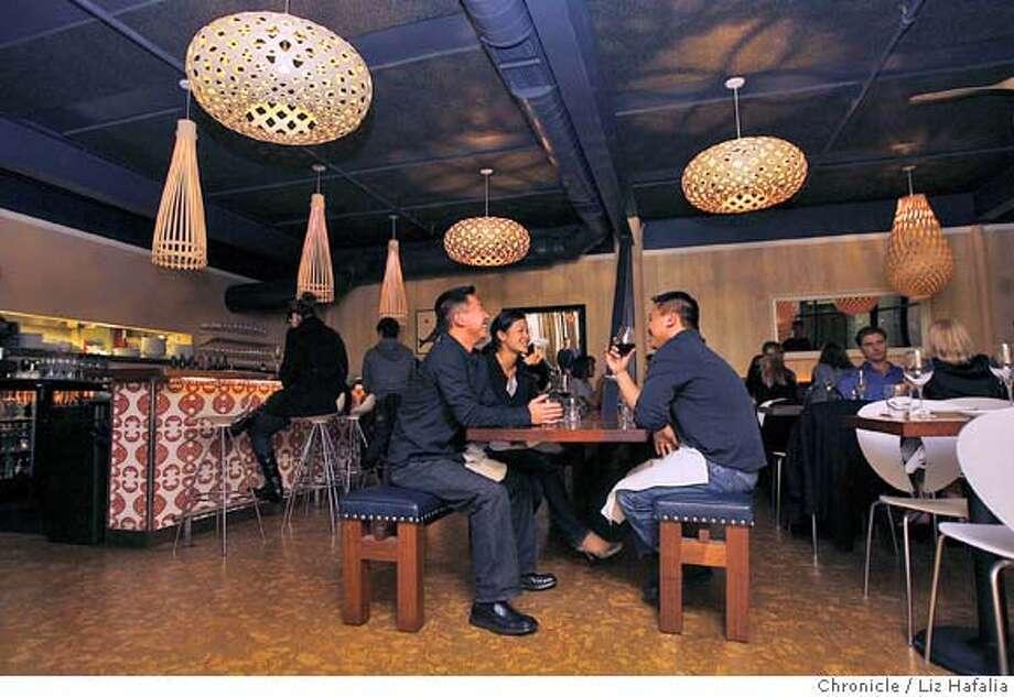 d.29 south_042_LH.JPG South is the only Australian restaurant in San Francisco.  Liz Hafalia/The Chronicle/San Francisco/1/4/08  ** cq  Ran on: 01-20-2008  South Food Wine Bar melds Australian and New Zealand cuisine with a West Coast sensibility. Photo: Liz Hafalia