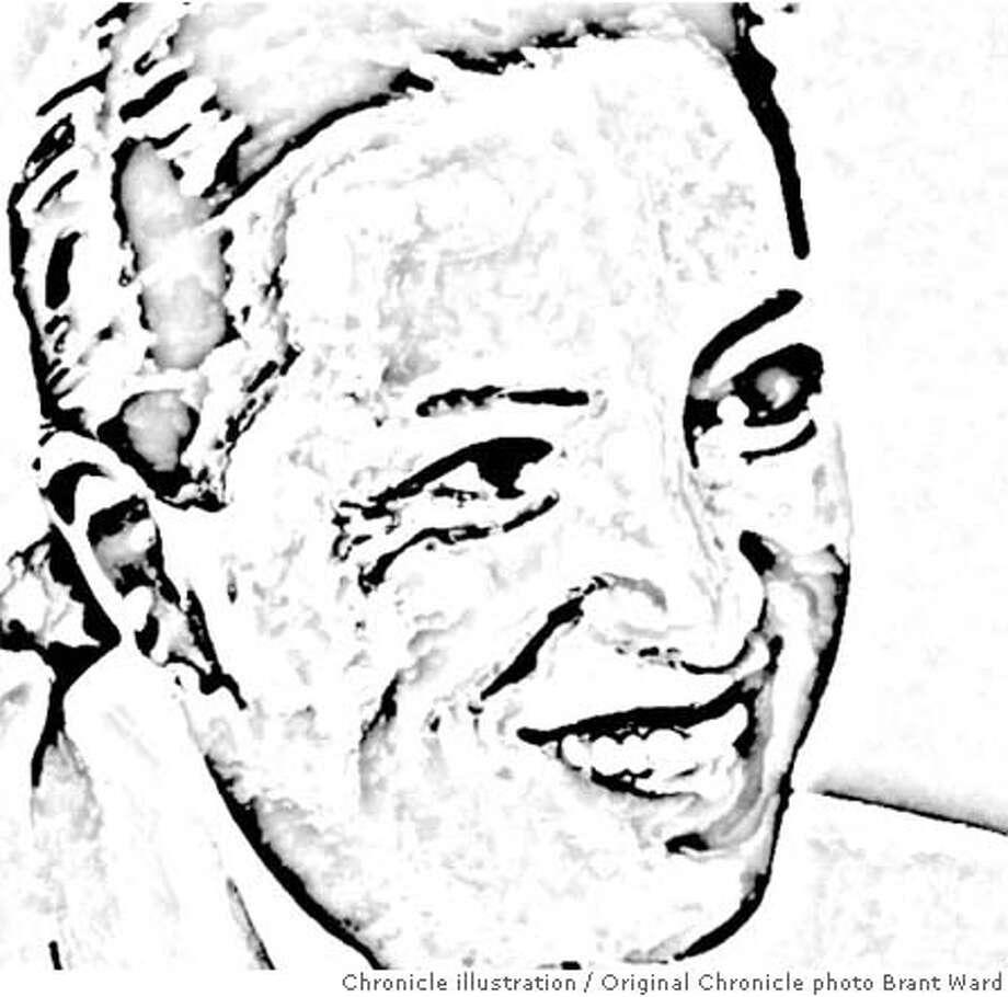 Eleni Tsakopoulos-Kounalakis. Chronicle photo illustration