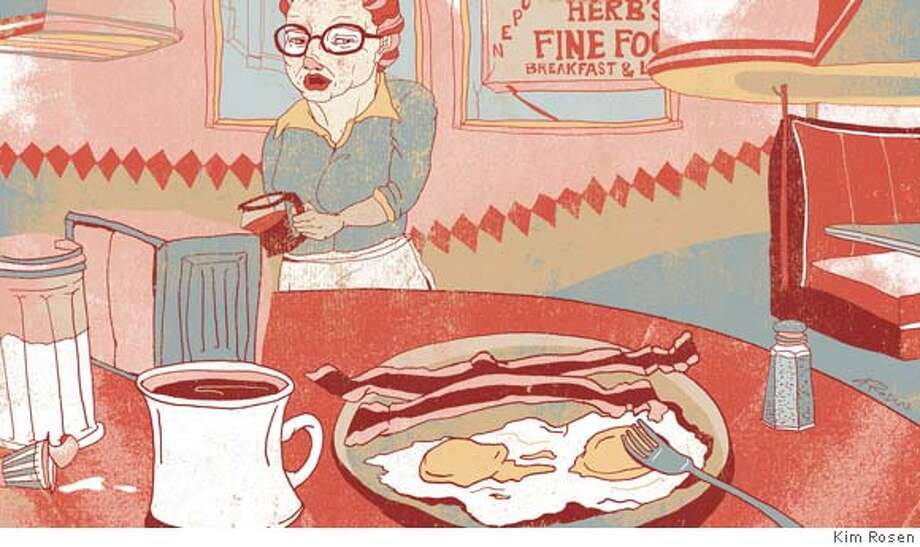 Illustration by Kim Rosen for 2/3/08 issue of Sunday magzine; FIRST REPRO RIGHTS ONLY; ok to tease and post with article on sfgate Photo: Kim Rosen