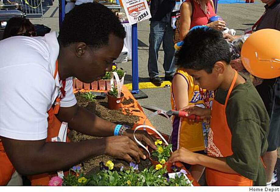Kids 5-12 years old can learn about tools and how to make projects every first Saturday of each month at  Home Depot stores. June 6 is a hardware /tool sorting box workshop. Photo: Home Depot