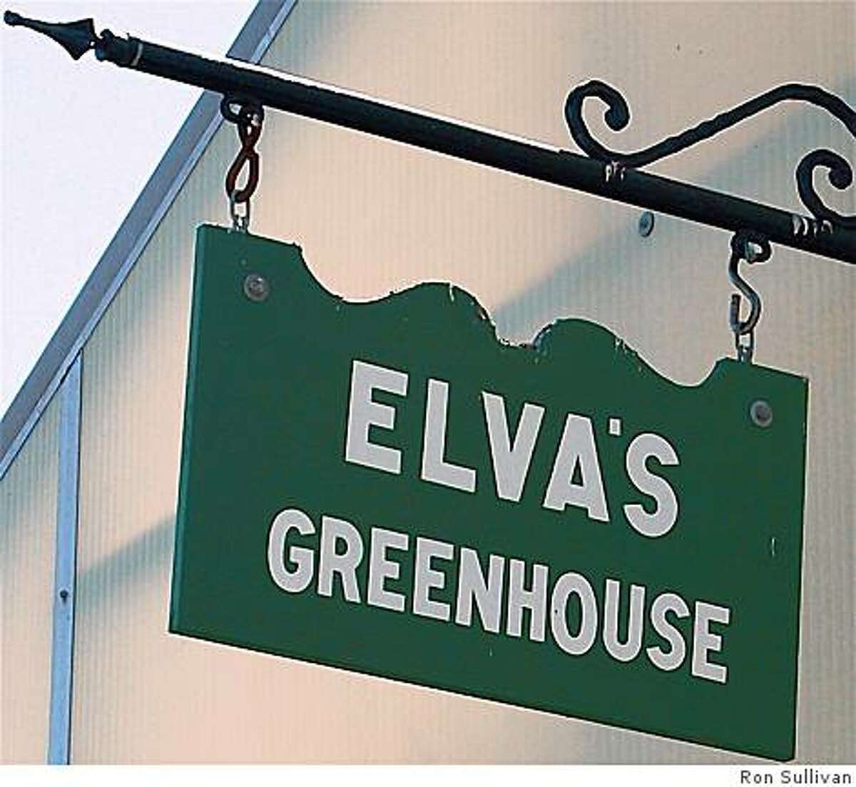 Elva's Greenhouse in Golden Gate Park