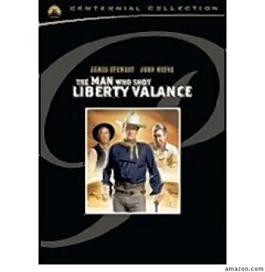 dvd cover THE MAN WHO SHOT LIBERTY VALANCE Photo: Amazon.com