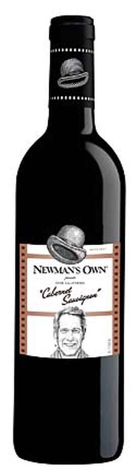 Newman's Own Chardonnay and Cabernet Sauvignon  Credit: Courtesy Newman's Own Photo: Credit
