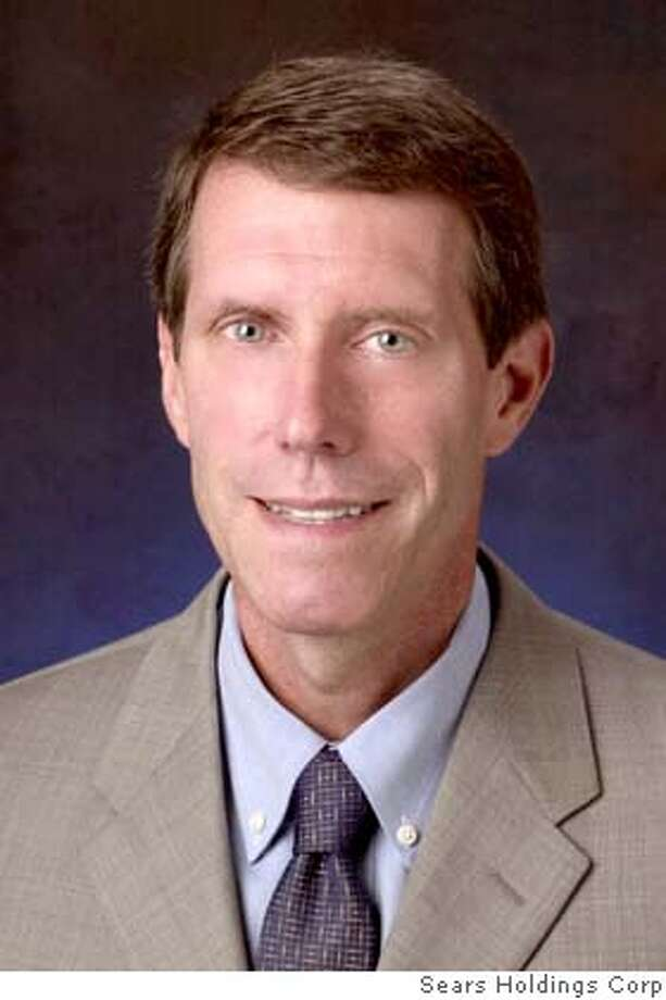 In this undated photo released by Sears Holdings Corp. is W. Bruce Johnson who was named Monday, Jan. 28, 2008, as interim CEO while the company looks for a permanent successor. Sears abruptly announced the departure of president and chief executive Aylwin B. Lewis on Monday, leaving a management void at the top of the department store chain controlled by Chairman Edward S. Lampert as it tries a high-stakes restructuring to reconnect with customers and reinvigorate slumping sales. (AP Photo/Sears Holdings Corp.) Photo: Sears Holdings Corp