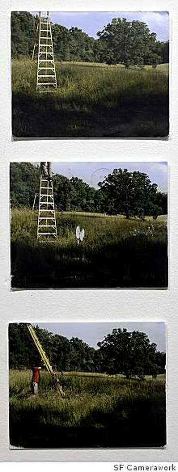 """Mail art by David Horvitz appears in """"Ersatz Group Exhibition"""" at SF Camerawork. Photo: SF Camerawork"""