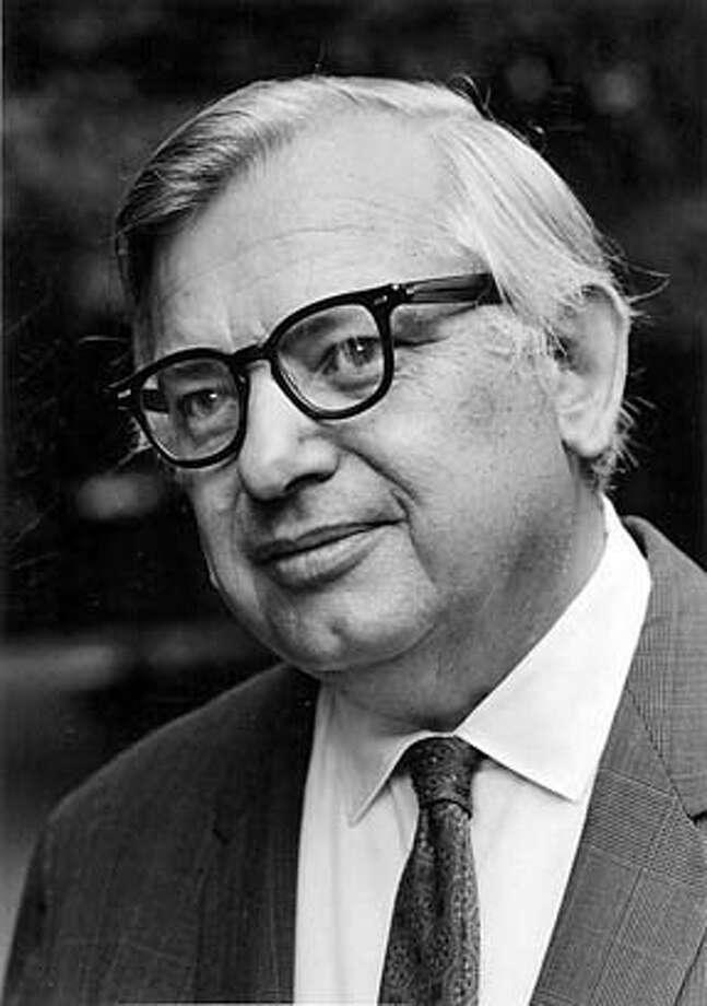 Obit photo of Albert Bowker taken in1972. Photo: I-o0=
