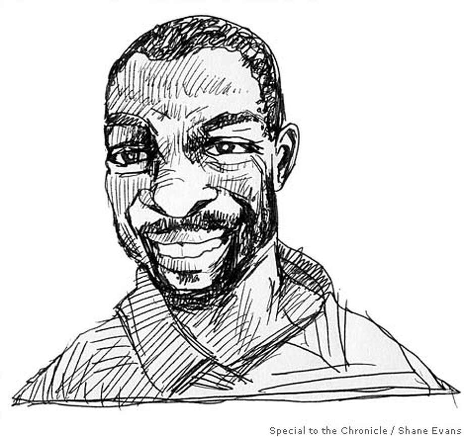 Marlon Riggs. Illustration by Shane Evans, special to the Chronicle