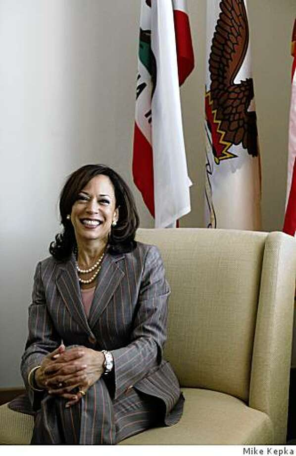 Kamala Harris, District Attorney for San Francisco, sits for a portrait in her Hall of Justice office on Tuesday April 28, 2009 in San Francisco, Calif. Photo: Mike Kepka
