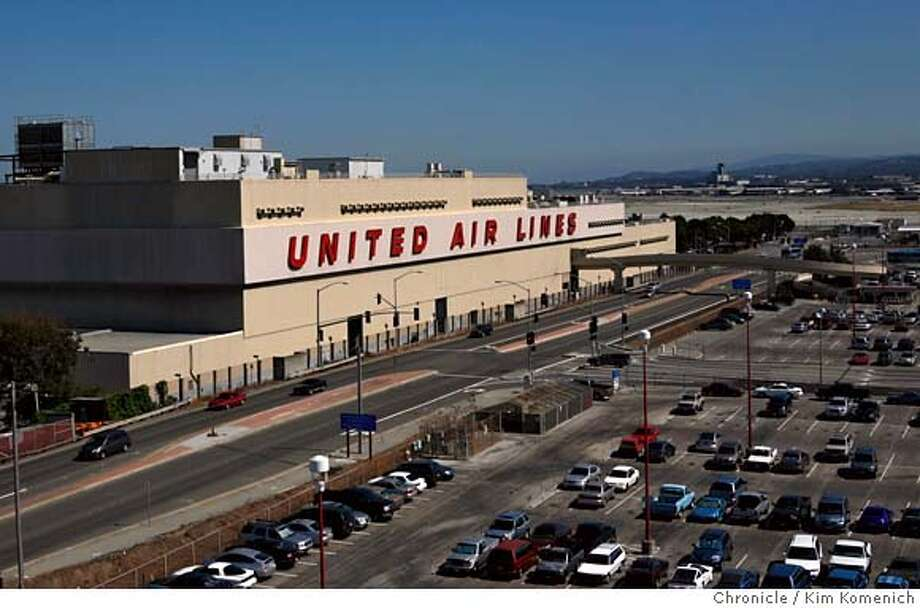 UNITED24_035_KK.JPG  The United Airlines maintenance operation at San Francisco International Airport is reportedly being offered for sale.  Photo by Kim Komenich/The Chronicle  Ran on: 08-24-2007  The huge maintenance base at San Francisco International Airport could be part of a sale being considered by United. MANDATORY CREDIT FOR PHOTOG AND SAN FRANCISCO CHRONICLE. NO SALES- MAGS OUT. Photo: Kim Komenich