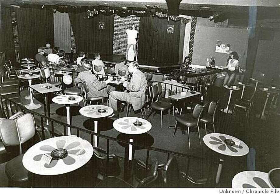 144project29_1249.jpg June 19,1976 - Risque at the Off-Broadway.Unknown Chronicle File Photo: Unknown, Chronicle File